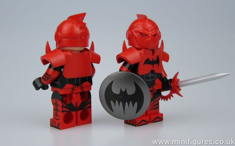 Earth 10 Batman UG v CrazyMinifigs Custom Minifigure