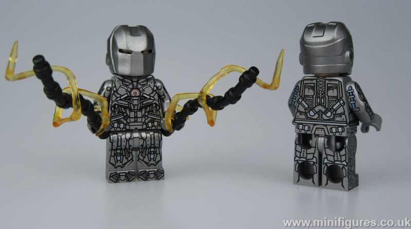 Whiplash V3 Lab9 Custom Minifigure