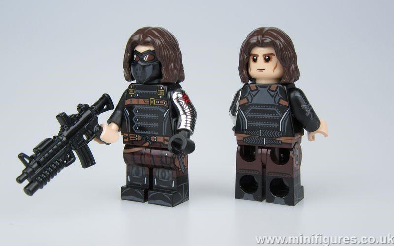 Winter Soldier V2 UG Custom Minifigure