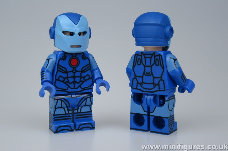 Avengers Armor Stealth Mode Lab9 Custom Minifigure