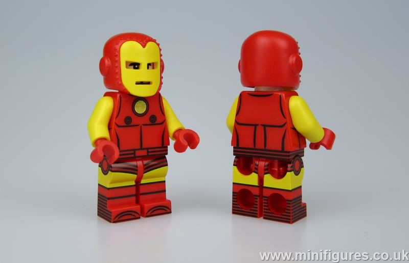 Comic Iron Man UG Custom Minifigure