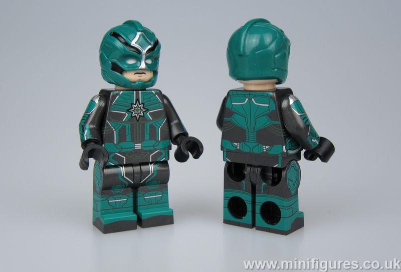 Cosmic Warrior GB Custom Minifigure