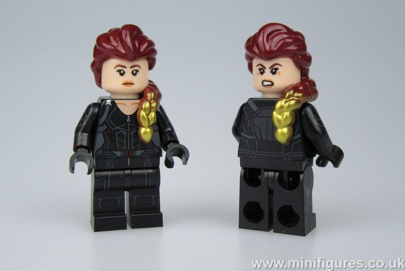 Endgame Black Widow ED Custom Minifigure