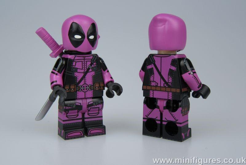 Pink Deadpool UG Custom Minifigure