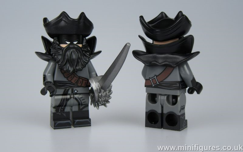 Pirate Batman My Brick Shop Custom Minifigure