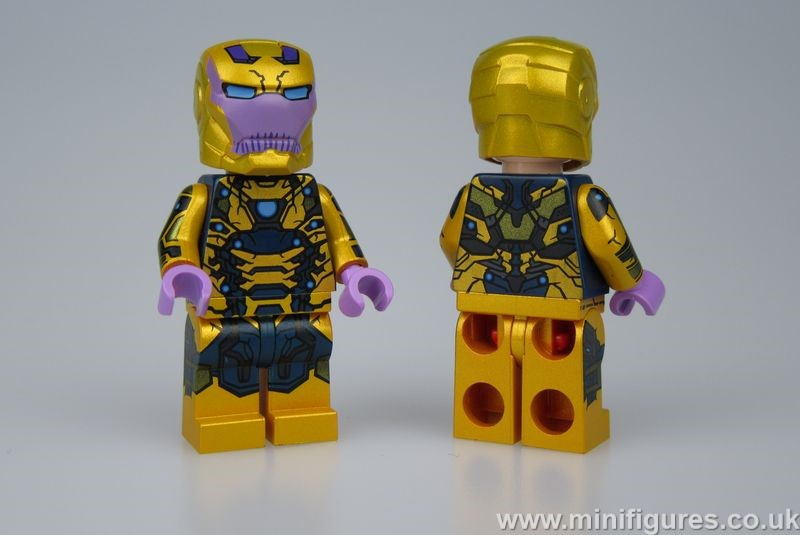 Thanos Iron Man ED Custom Minifigure