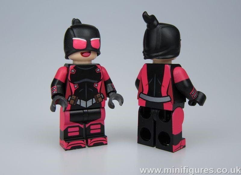 Evil Gwenpool MaxBrick Custom Minifigure