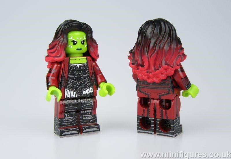 Gamora LeYiLeBrick Custom Minifigure