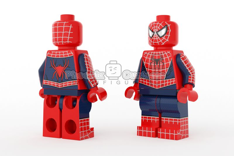 Original Arachnid Hero PC Custom Minifigure