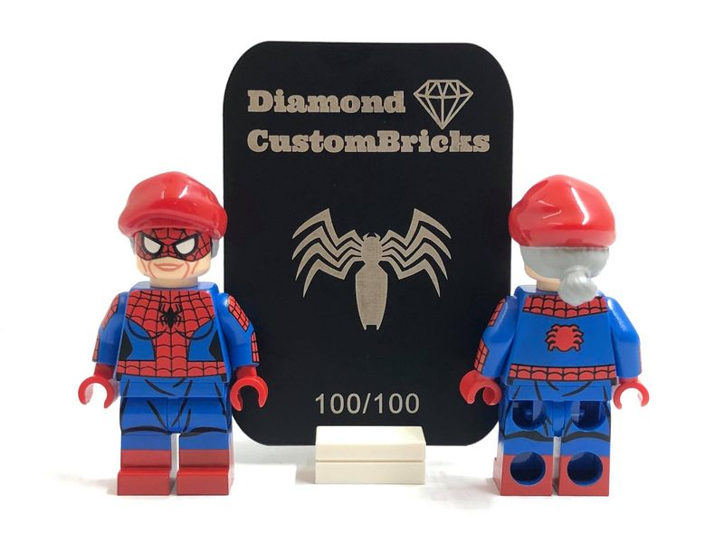 Spider Aunt DCB Custom Minifigure