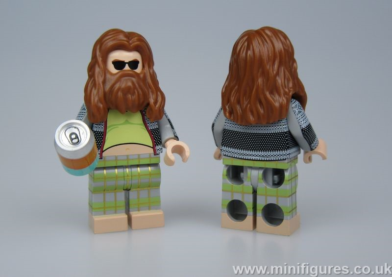 Beer God GB Custom Minifigure