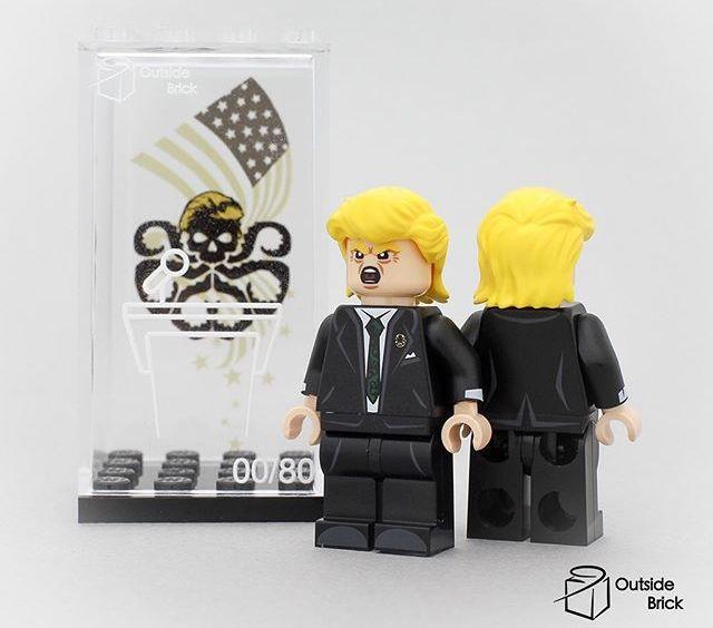 Hydra Trump OB Custom Minifigure