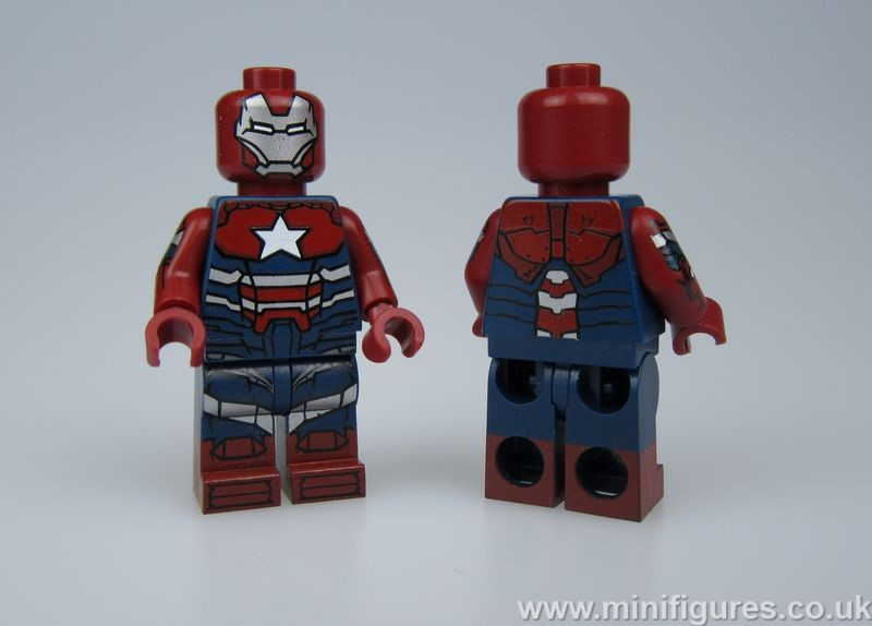 Iron Patriot BrickMode Custom Minifigure