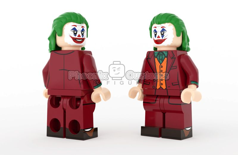 Killer Clown PC Custom Minifigure