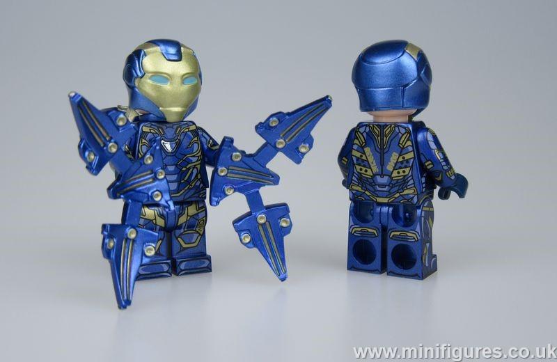 Pepper Iron Man Lab9 Custom Minifigure