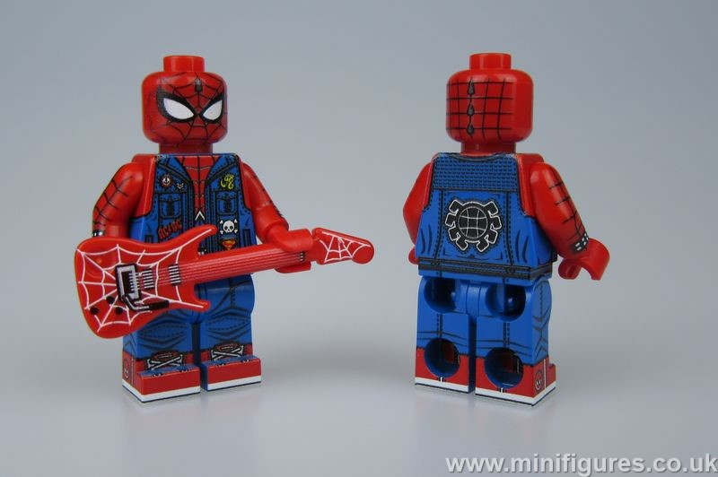Rock Spiderman LeYiLeBrick Custom Minifigure