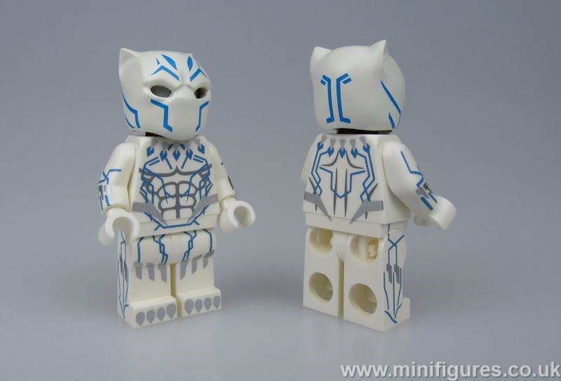 White Panther Crystal Custom Minifigure
