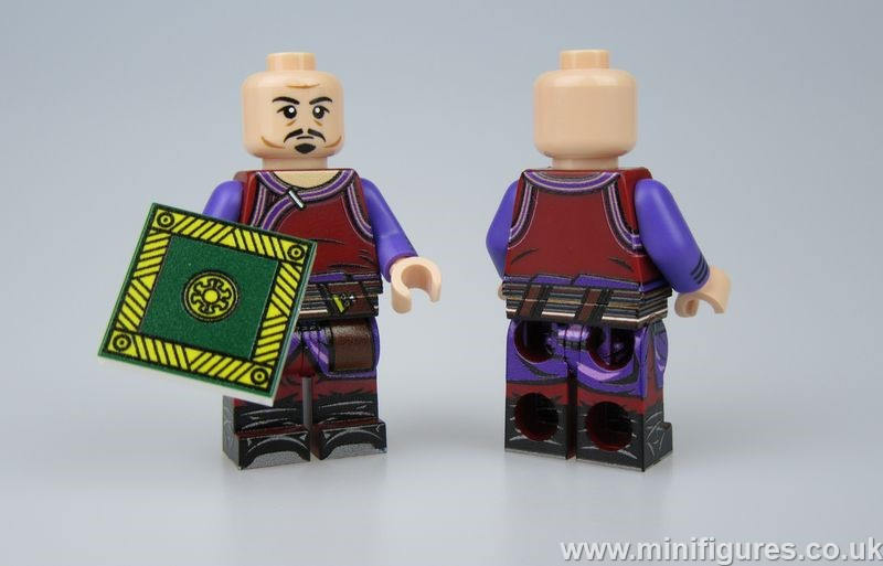 Wong LeYiLeBrick Custom Minifigure