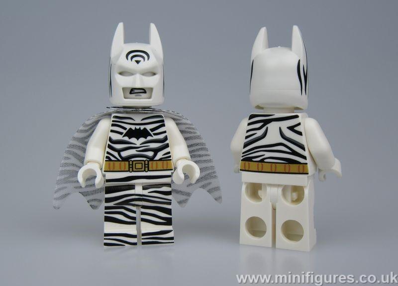Zebra Batman LeYiLeBrick Custom Minifigure