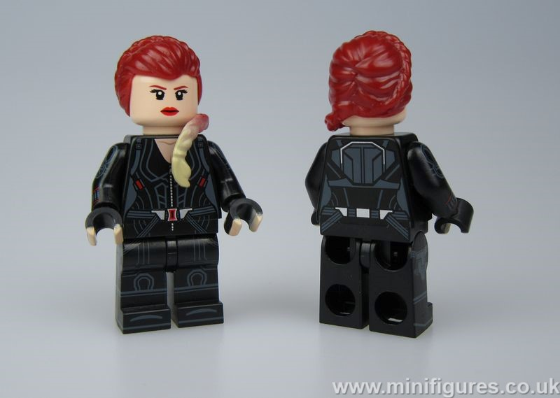 Black Widow DCB v PC Custom Minifigure