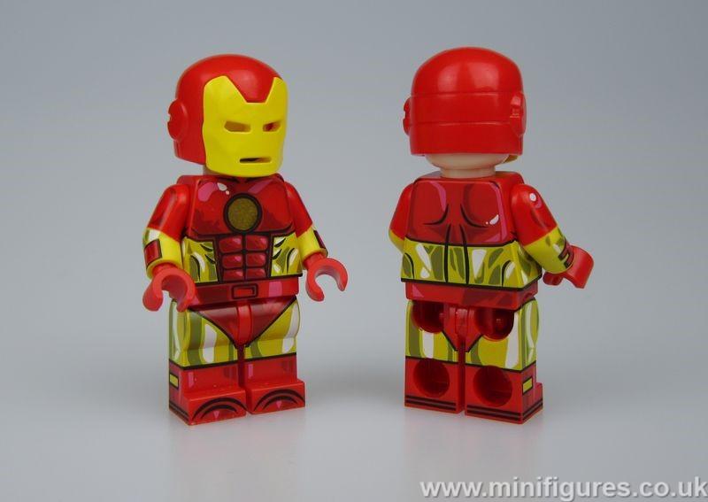 Comic Armor UG Custom Minifigure