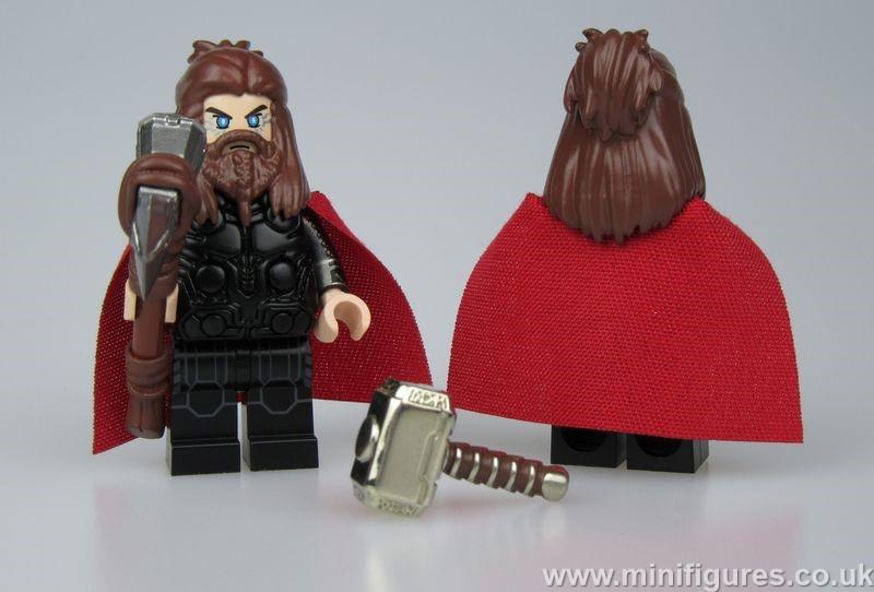 Fat Thor CrazyMinifigs Custom Minifigure