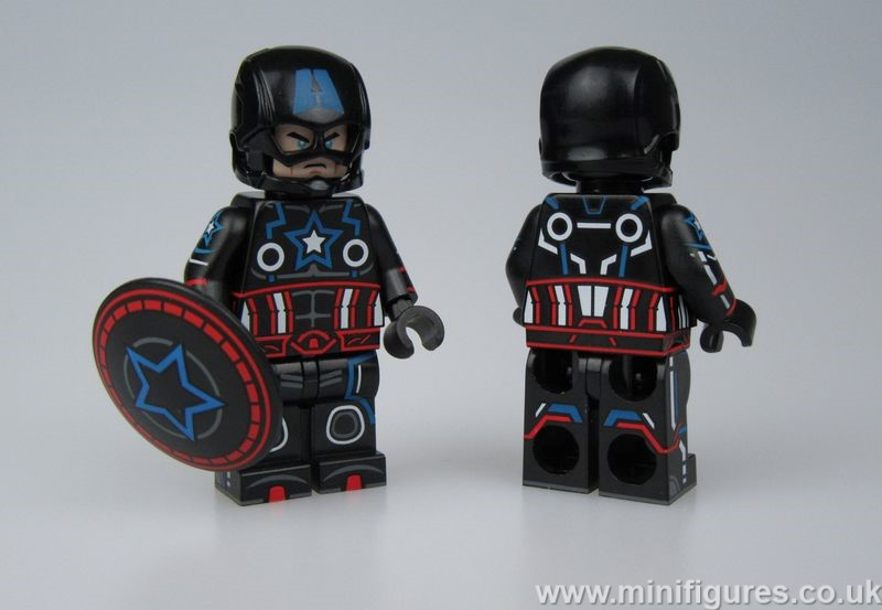 Neon Captain OB Custom Minifigure