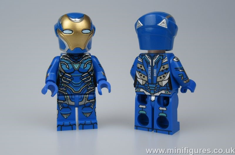 Pepper Suit Blue FB Custom Minifigure