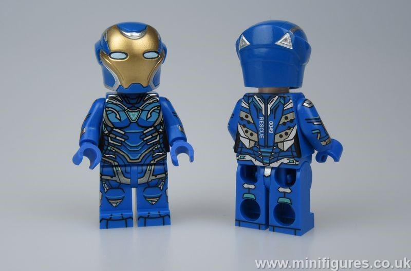 Pepper Suit Blue FB Custom Minifigure