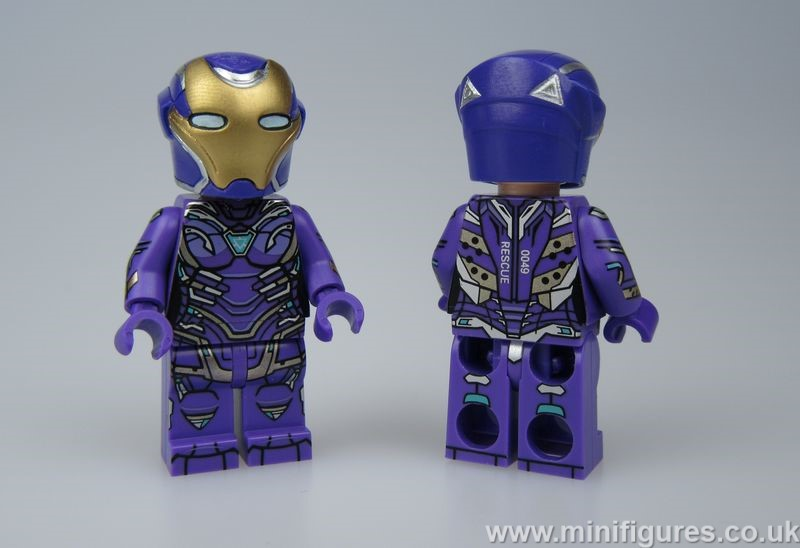 Pepper Suit Purple FB Custom Minifigure