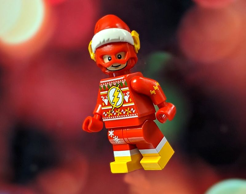Santa Lightning BF Custom Minifigure