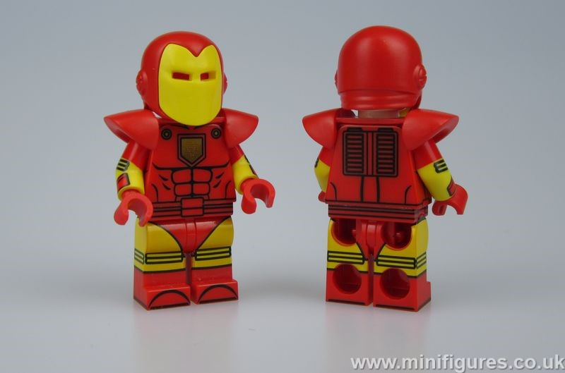 Speed Armor UG Custom Minifigure