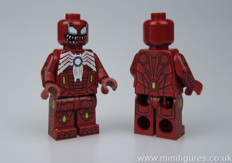 Venom Iron Man CrazyMinifigs Custom Minifigure