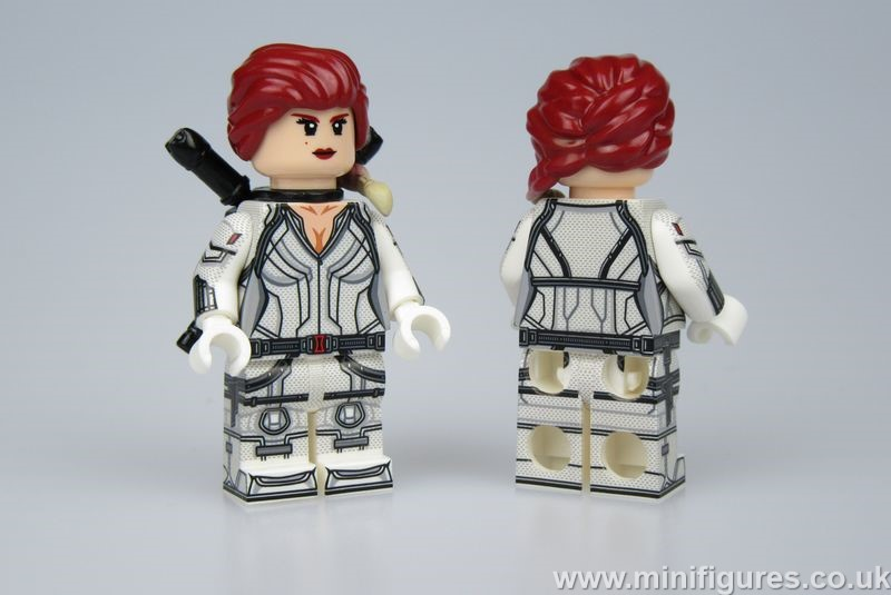 White Widow Concept Lab9 Custom Minifigure
