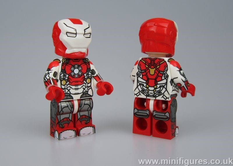 Xmas Iron Man Lab9 Custom Minifigure