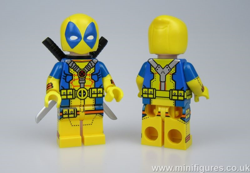Yellow Deadpool UG Custom Minifigure