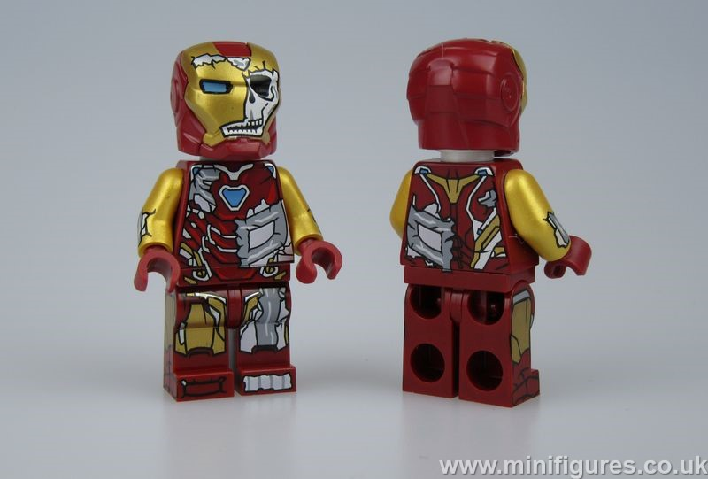 Zombie Iron Man ED Custom Minifigure