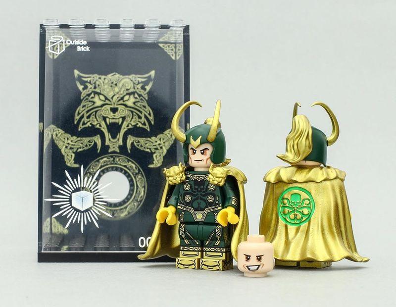 Hydra Loki OB Custom Minifigure