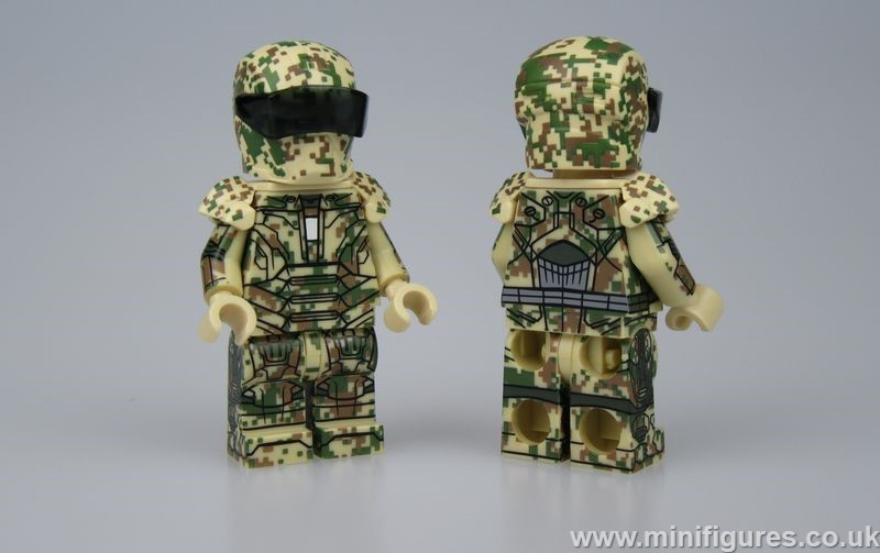 Military Armour GB Custom Minifigure
