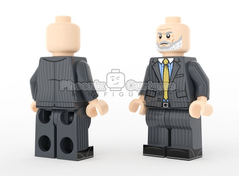 Corrupt Exec PC Custom Minifigure
