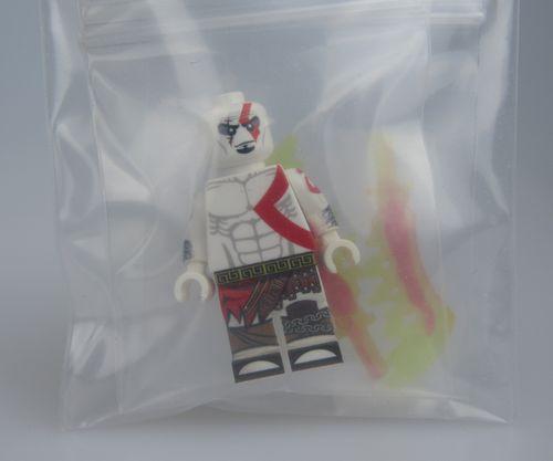 God of War Kratos LeyileBrick Custom Minifigure