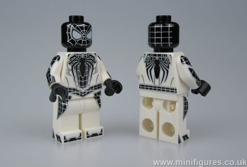 Negative Spider Man Christo Custom Minifigure