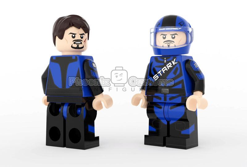 Racing Billionaire PC Custom Minifigure