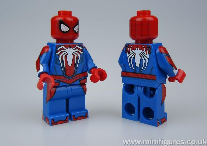 Spider Man Christo Custom Minifigure