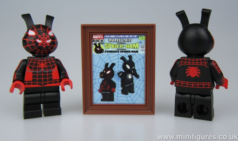 Spider Swine DCB Custom Minifigure