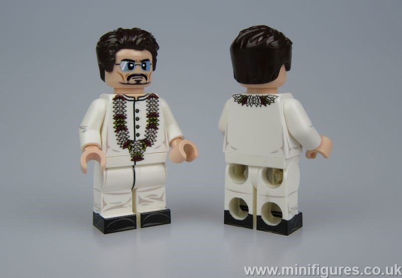 Commander Tony LeYiLeBrick Custom Minifigure