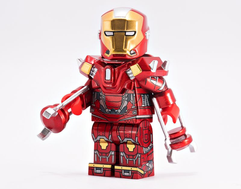 Grappler Armor BF Custom Minifigure