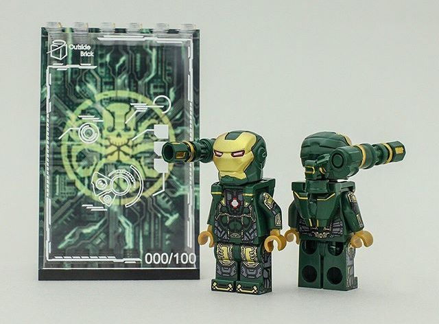 Hydra War Machine OB Custom Minifigure