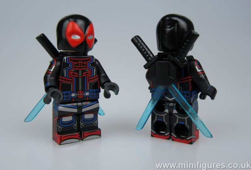 Tron Deadpool CM v UG Custom Minifigure