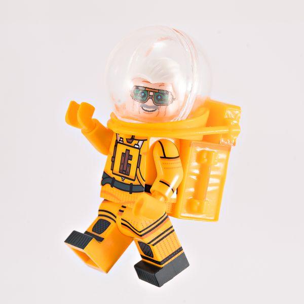 Galactic Artist BF Custom Minifigure